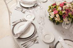 Decoración de mesas para bodas con flores