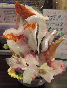 徳上おまかせ海鮮丼(税込1944円) 海輪亭 #SeafoodBowl #Fukuoka