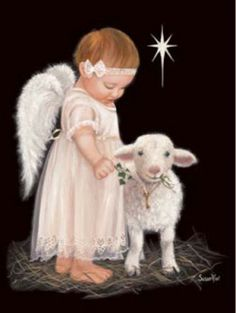 The Littlest Angel by Susan Rios ~ lamb ~ Star of Bethlehem ~ Christmas