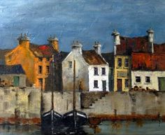 Dingle Harbour by Irish Contemporary Artist Val Byrne