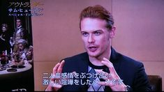 Outlander S2 Sam Heughan JAPAN-interview No1~ No4|Promo|CM |from AXNJapan