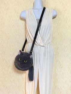 Realistic Cat Bags Crafted By Japanese Housewife Is The Cats Meow -  #cats #DIY #purse