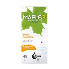 Eau d'érable pure Maple3  #maple #water