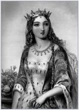 Margaret Of Anjou Queen Of King Henry Vi Of England Engraved By WJEdwards After ABouvierFrom The Book The Queens Of England Volume I By Sydney Wilmot Published London Circa 1890 Canvas Art - Uk History, Tudor History, Women In History, British History, World History, French History, Asian History, History Facts, Family History