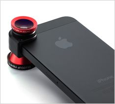 Olloclip iPhone macro lens, wide angle lens, fisheye lens, lens attachment