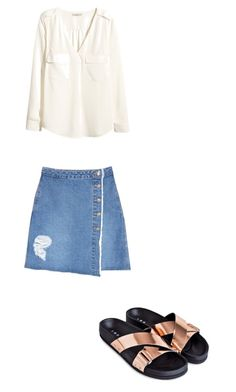 """Untitled #89"" by cassidyb16 ❤ liked on Polyvore featuring SJYP and H&M"