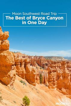 No southwest road trip is complete without a visit to Utah's Bryce Canyon National Park. If you only have a day, start with this itinerary.