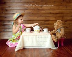 Tea parties with Teddy, good times