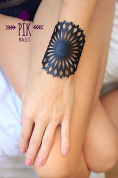 HOT PRICE Leather Bracelet cuff Leather Cuff Ladies by PikBracelet