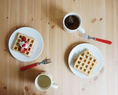 Whole Wheat Waffles, Chocolate Fondue, Dairy Free, Tuesday, Coconut, Butter, Meals, Baking, Breakfast