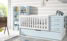 Cuna convertible E125 .Para cuando tu bebe se haga mayor, puedas convertir su cuna en cama.