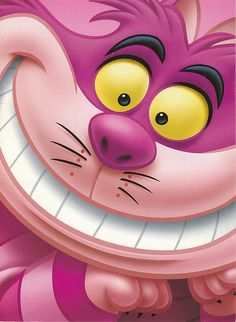 The Cheshire Cat, one of my favorites among The Mad Hatter & March Hare!