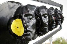 Recyclage créatif des vieux vinyles! Voici 17 idées pour vous inspirer…