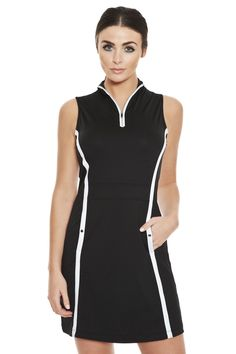 Dylan Piped Golf Dress: golf dress, golf dresses, women's golf dress: FREE SHIPPING on orders over $75