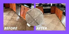 Tile and Grout Cleaning Before and After 2020
