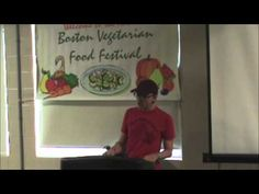 """The Tipsy Vegan Tells All"" ~ A Speech and QandA By John Schlimm ~ Delivered at Boston Vegetarian Food Festival ~ On Make A Difference Day, October 27, 2012 ~ For more information, please visit: www.JohnSchlimm.com"