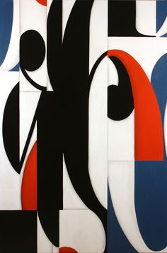 Post Dogmatist Painting #618 - 66x44 inches - 2013 - Cecil Touchon - paper and acrylic on birch panel