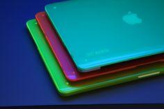 Glow baby glow! SmartShell Neon colors for MacBook glow in blacklight!
