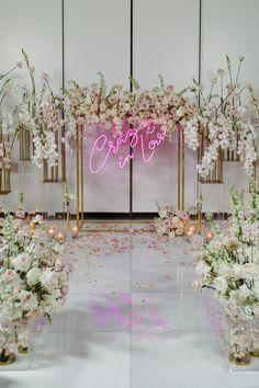 #wedding #eventplanner #wedluxe #weddingceremony #weddinginvites #crazyinlove #style #weddinginspiration #weddinginspo #beauty #neon #flowers