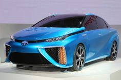 Toyota FCV Concept, Modified Prius C at 2013 Tokyo Motor Show - Motor Trend WOT
