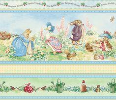Buy Jane Churchill Beatrix Potter Wallpaper, Cream / Multi J067W ...