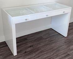 ZARA PRO Vanity Table - Medina Vanity Top Drawer, Drawer Knobs, Table Dimensions, Room Decor Bedroom, Drawers, Zara, Vanity, Furniture, Design