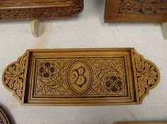 Carved by world renowned chip carver Wayne Barton