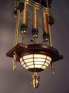Siddhartha Pod Steampunk Lantern