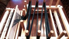Ravelry: jeen's DIRECT WARPING A R.H. LOOM WITH A WARPING BOARD
