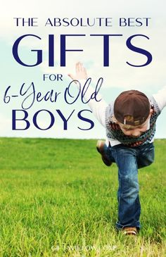 These gifts for old boys are perfect for active kindergarteners that are loving every part of life! There are gift ideas for educational toys, fun toys, and even a few accessories! Unique Gifts For Kids, Gifts For Boys, Toys For Boys, Girl Gifts, Creative Gifts, Diy Gifts For 6 Year Olds, Activities For 6 Year Olds, Seven Years Old, Gifted Education