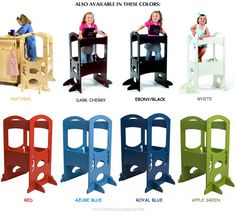 LEARNING TOWER Kids Kitchen Step Stool  sc 1 st  Pinterest & Kitchen Helper Safety Tower Kids Safety Stool Learning Stool ... islam-shia.org