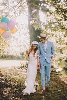 Un chapeau pour votre tenue de mariage, l'accessoire idéal #look #mode #homme #wedding #chapeau #fashion