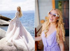 Hair and Makeup for Hayley Paige's Lake Tahoe Wedding