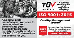 ISO 9001:2015: Quality management system helping businesses to be more efficient and improve customer satisfaction. http://tuvat.asia/get-a-quote For quries: Pakistan: +92 (42) 111-284-284 | Bangladesh +88 (02) 8836404 | Sri Lanka +94 (11) 2301056 #ISO #TUV #certification #pakistan #Srilanka #iso9001 #bangladesh #srilanka #lahore #karachi #colombo #dhaka