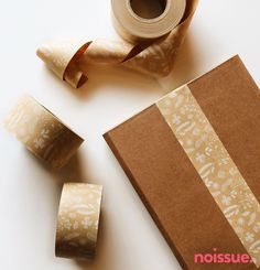 Flowers and plants on custom paper tape to seal packages! Printing On Tissue Paper, Paper Tape, Craft Packaging, Custom Packaging, Packaging Ideas, Packaging Design, Ecommerce, Plastic Alternatives, Sustainable Gifts