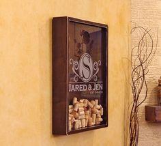 18x24 Wine Cork Holder Wall Decor Art / by organikcreative on Etsy