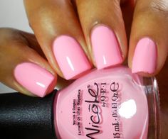 Nicole by OPI: Up & Kim-ing Pink