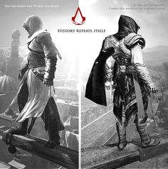 But Altaïr wasn't as much of a slut as Ezio was tho