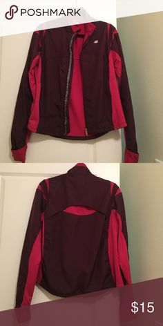 New Balance (( Final sale )) Used but in good condition , size L but fits M Jackets & Coats