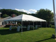 White Frame Tent with Tables u0026 chairs for 60 ppl - Call us @ Avenue Party Rentals - Serving All of Long Island NY & 20x50m Good Quality Wedding Marquee - Buy Wedding MarqueeLarge ...