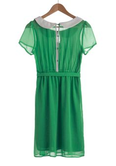 Behold the Emerald Dress #modcloth #styleserving