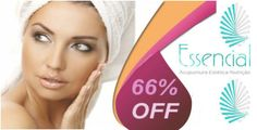 Peeling de diamante facial + Radiofrequencia facial + Tonificação facial + Mascara de clareamento facial na Clinica Essencial, de R$ 200,00 por apenas R$ 68,90. Você economiza R$ 131,10. Parcele no cartão!!