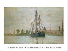Chasse-Marée À L'Ancre (Rouen) Festmény reprodukció az Europosters.hu-n
