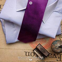 Corbata de seda Alessandro Ferrari  Camisa formal Colletti