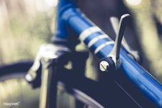 Close up of a bike adjustment lever | free image by rawpixel.com