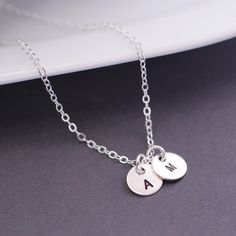 Personalized Mother's Necklace by georgiedesigns