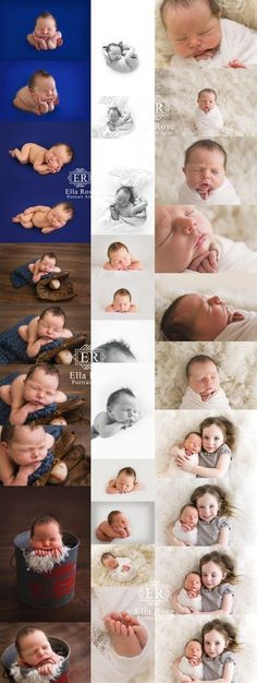 Newborn Flow posing for beginners to advance newborn photographers.