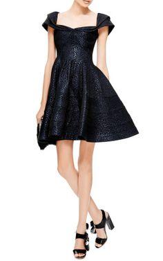 Metallic Jacquard Dress by Zac Posen - Moda Operandi, How would you accessorize this? http://keep.com/metallic-jacquard-dress-by-zac-posen-moda-operandi-by-cocomist/k/1eq-b-ABO8/