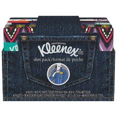Kleenex Facial Tissue, Slim Pack