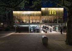 Mei Architects And Planners Interior Mc Donalds Coolsingel - Camouflaged into its surroundings mcdonalds restaurant by mei architects